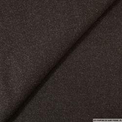 Tissu tailleur marron