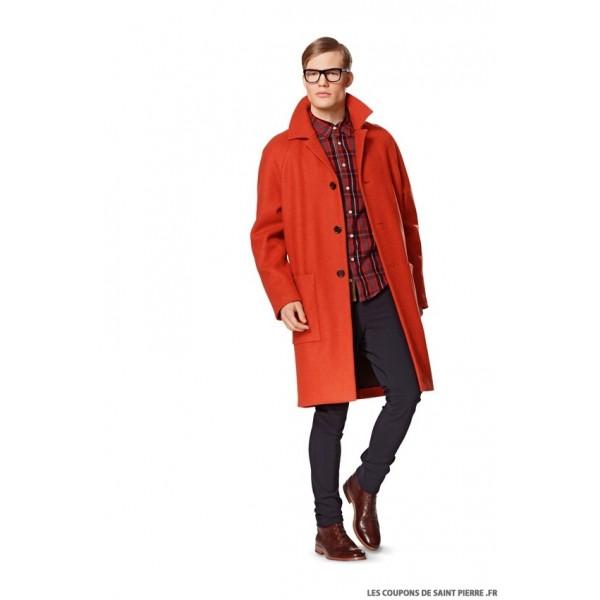 Modèle n°: 7142 Manteau & Veste Homme