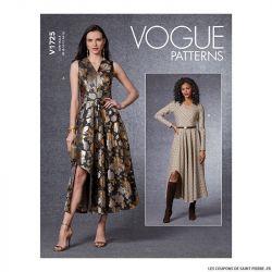 Patron Vogue V1725 : Corsage