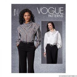 Patron Vogue V1726 : Haut