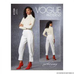 Patron Vogue V1729 : Pantalon court
