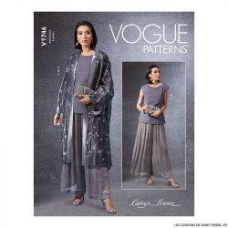 Patron Vogue V1746 : Kimono