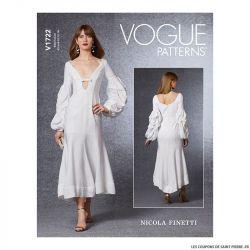 Patron Vogue V1722 : Corsage