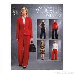 Patron Vogue V1741 : Veste