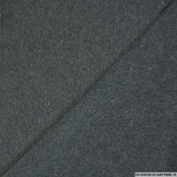 Jersey de laine gris anthracite