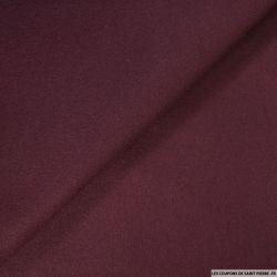 Drap de laine violet zinzolin