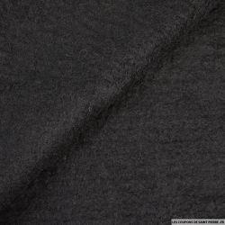 Velours de laine mélangée noir