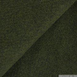 Velours de laine mélangée vert