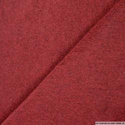 Velours de laine mélangée bordeaux
