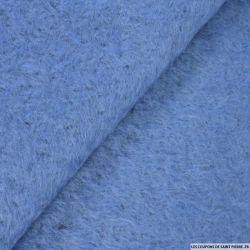Laine mohair bleu