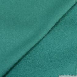 Caban fluide vert platine