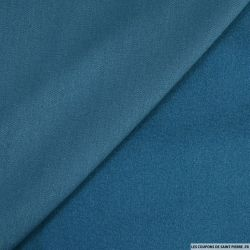 Caban fluide bleu azur