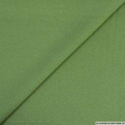 Crêpe georgette 100% soie vert amande