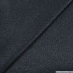 Jersey laine mélangée marine