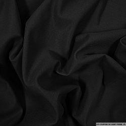 Doublure Maille noir au mètre