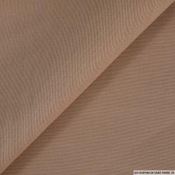 Organza de soie et laine fond de teint