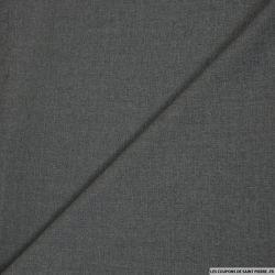 Tissu tailleur gris anthracite