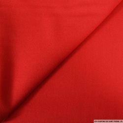 Crêpe polyviscose rouge