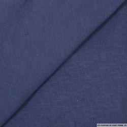 Molleton coton chiné violet nacré
