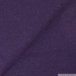 Laine bouillie violette foncé