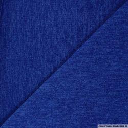 Maille unie bleu roi