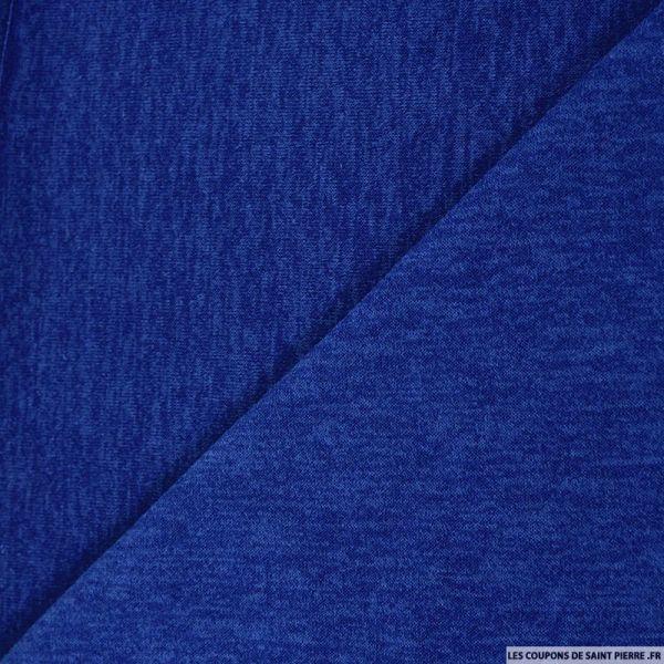 Maille uni bleu marine