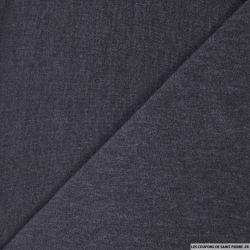 Maille unie gris