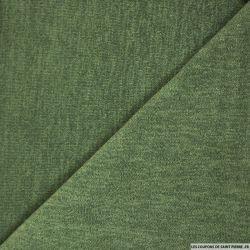 Maille unie vert amande