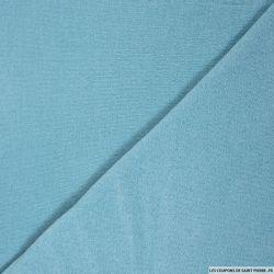 Maille unie bleu azurin