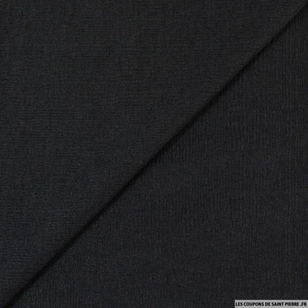 Maille texturée noir