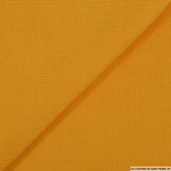 Maille rayé jaune mimosa