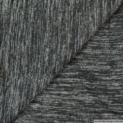 Maille chinée gris