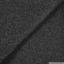 Laine fluide gris chiné