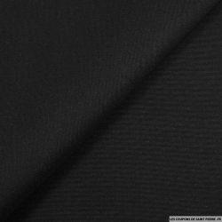 Piqué de soie noir