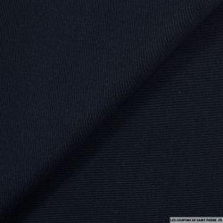 Piqué de soie marine