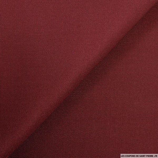 Piqué de soie rouge