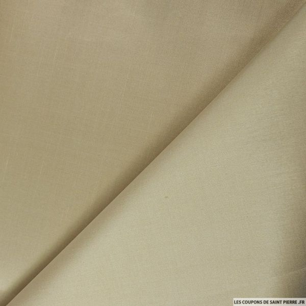 Doupion de soie beige