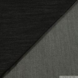 Jean's coton souple élasthanne gris terre d'ombre