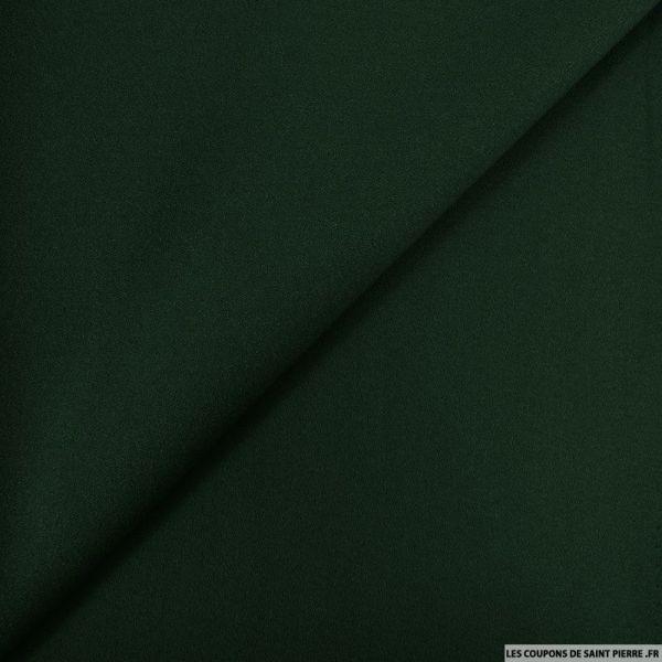 Crêpe polyviscose vert