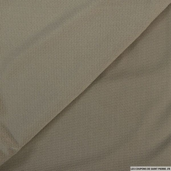 Jersey polyester sable