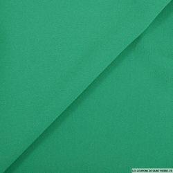 Mousseline polyester vert