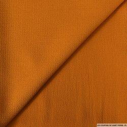 Jersey texturé moutarde