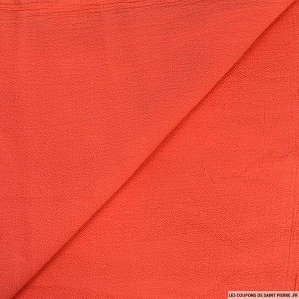 Jersey texturé corail
