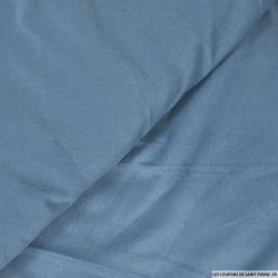Chamoisine polyester bleu