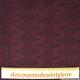Jean's jacquard coton elasthane losange fond lie de vin