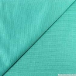 Maille milano légère turquoise