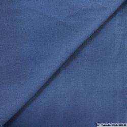 Satin fluide polyester marine