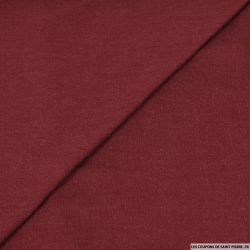 Viscose chiné bordeaux
