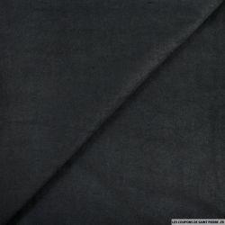 Chamoisine polyester noir