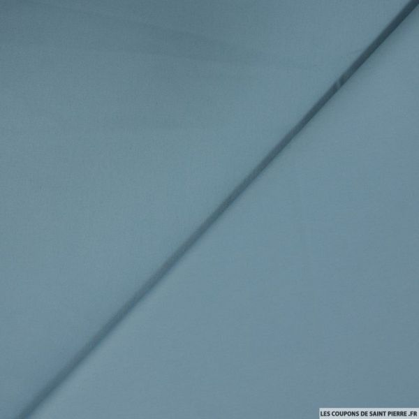 Satin de coton bleu de guède